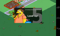 The Simpsons Tapped Out - Level up