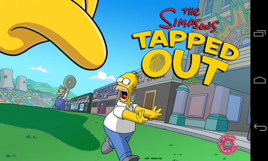 The Simpsons: Tapped Out. Homer blew up Springfield, help him rebuild it!