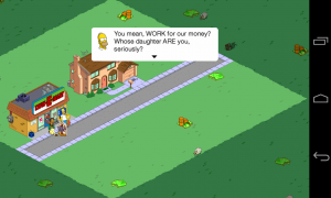 The Simpsons Tapped Out - Plenty of Simpson humor
