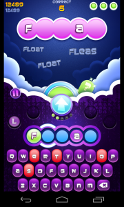 Wordsplosion - Gameplay and animation (1)