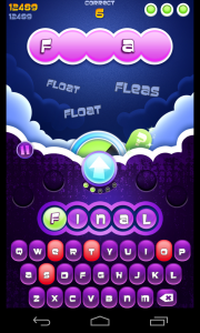 Wordsplosion - Gameplay and animation (2)