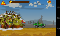 Zombie Road Trip - Bright colourful graphics