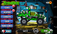 Zombie Road Trip - Cool buggy