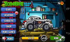 Zombie Road Trip - Garage 1