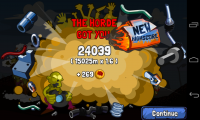 Zombie Road Trip - Try and get as high a score as possible