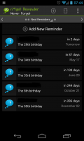 n'4get Reminder Pro - Reminders list