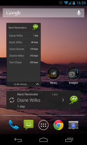 n'4get Reminder Pro - Widgets