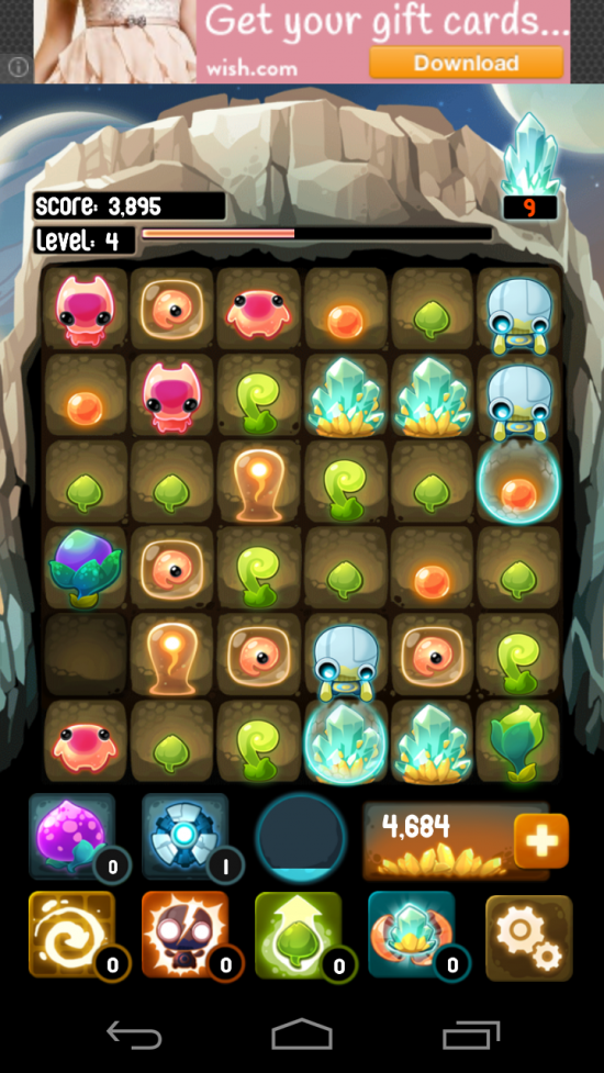 Alien Hive – evolve aliens in ultimate mash-up match 3 sliding tile puzzle game!