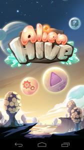 Alien Hive Start Screen
