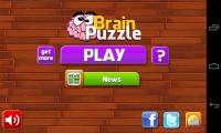 Brain Puzzle - Menu