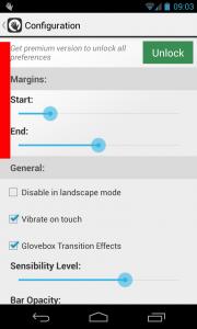 Glovebox - Configuration