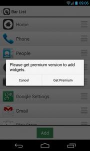 Glovebox - Premium version prompt