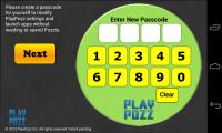 PlayPozz - Create passcode
