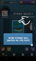 Rise of the Blobs - Stage select