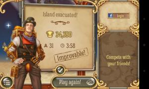 Rocket Island - End of level