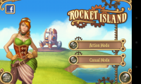 Rocket Island - Menu