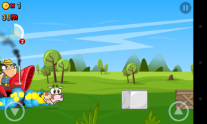 Run Cow Run - Smart 2D graphics