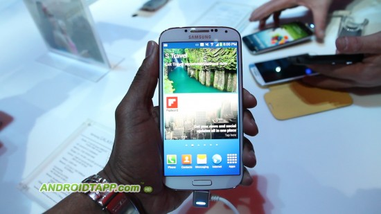 Hands-on Video with the new Samsung Galaxy S4