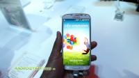 Samsung Galaxy S4 Hands-on - Lock Screen