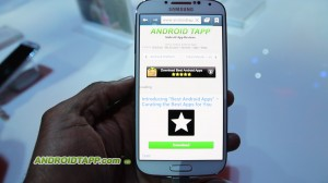 Samsung Galaxy S4 Hands-on - Hey one of the Best apps out there!