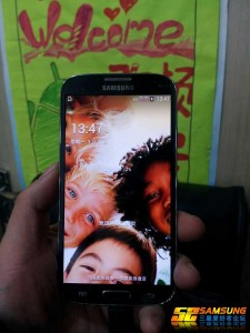 Samsung Galaxy S4 Leak (Unlock Screen)