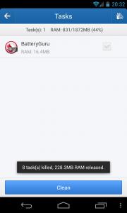 Clean Master - Task killer