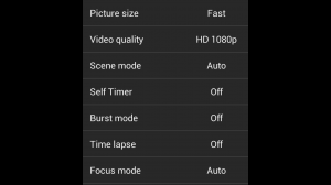 Snap Camera Additional Settings