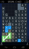 Spelltower - Word construction