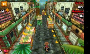 Super Monkey Run - 3D gameplay