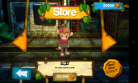 Super Monkey Run - Character select... for 20,000 coins!