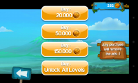 Super Monkey Run - In app purchasing