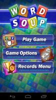 Word Soup Start Screen