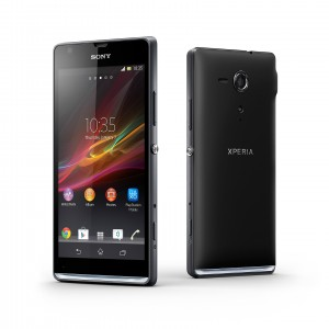 Xperia SP Front and Back