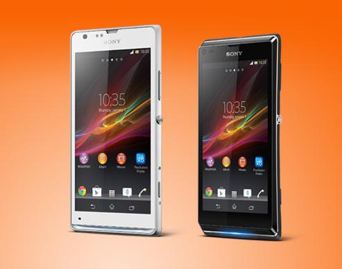 Sony unveils Xperia SP and Xperia L smartphones
