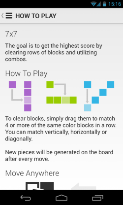 7x7 - How to play