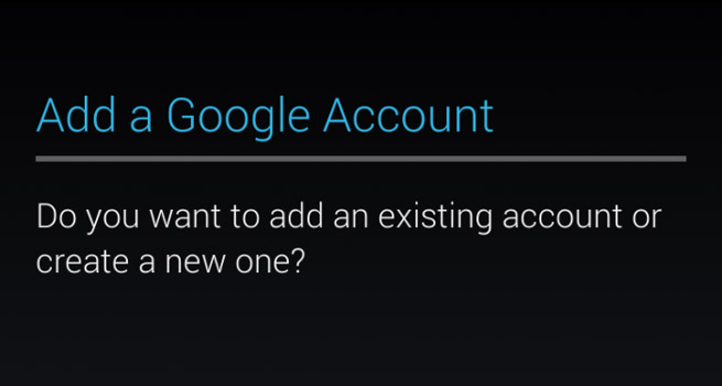 Android 101: Adding an account to your Android device