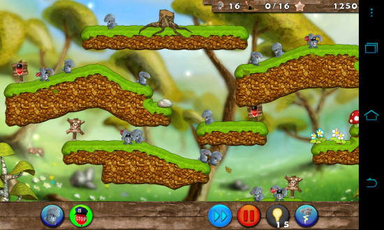 Bunny Mania 2 – Android spin off of the popular PC game 'Lemmings'