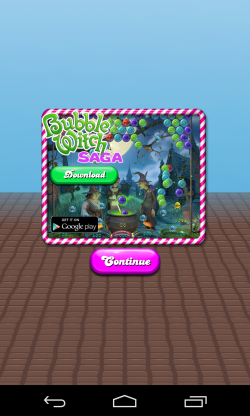 Candy Crush Saga - In-app adds