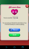 Candy Crush Saga - Limited lives