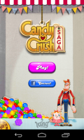 Candy Crush Saga - Menu