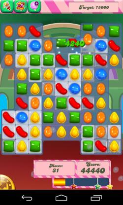 Candy Crush Saga - Sample gameplay (2)