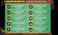 Defender 3 - Achievements