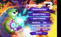 Defender 3 - Settings