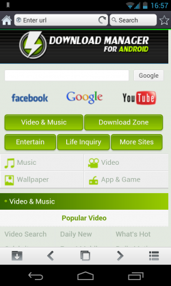 Download Manager for Android - Browser