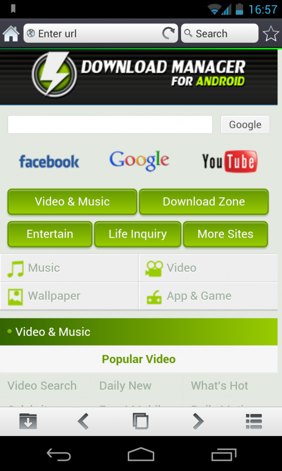 Download Manager for Android – MP3 downloads, browser, file manager & music player all in one!