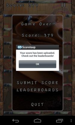 Falldown Droid Edition - Leaderboards