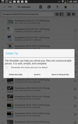 File Expert HD with Clouds - Delete or Shred