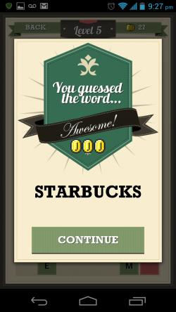 Guess the Word Ultimate - Logo Descramble Correct