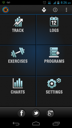 Gymprovise Gym Workout Tracker