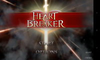 Heart Breaker - Main menu